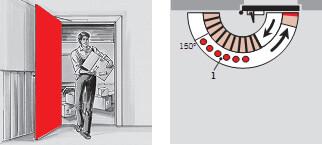 Доводчик с фиксацией в открытом положении (ФОП) - DORMA TS 73V BC