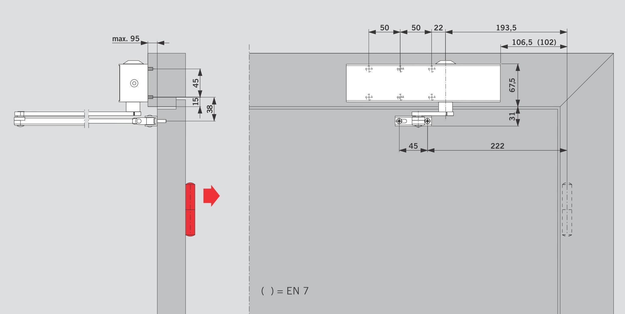 Схема электромагнитных замка на входных дверях6