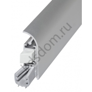 Порог автоматический накладной Athmer Isolporte Deco silver, silicone