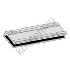 Монтажная пластина для цельностеклянных дверей GEZE TS2000